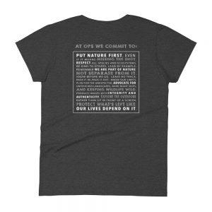 Women's OPS Manifesto Short Sleeve T-shirt