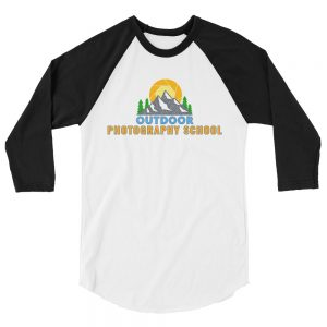 OPS Unisex 3/4 Sleeve Raglan Shirt