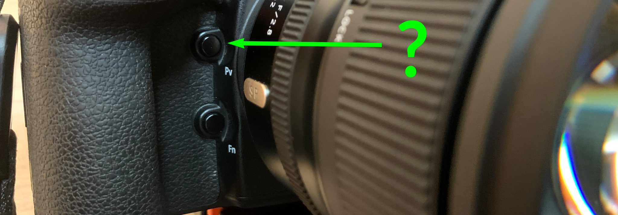 What is the Depth of Field Preview Button?
