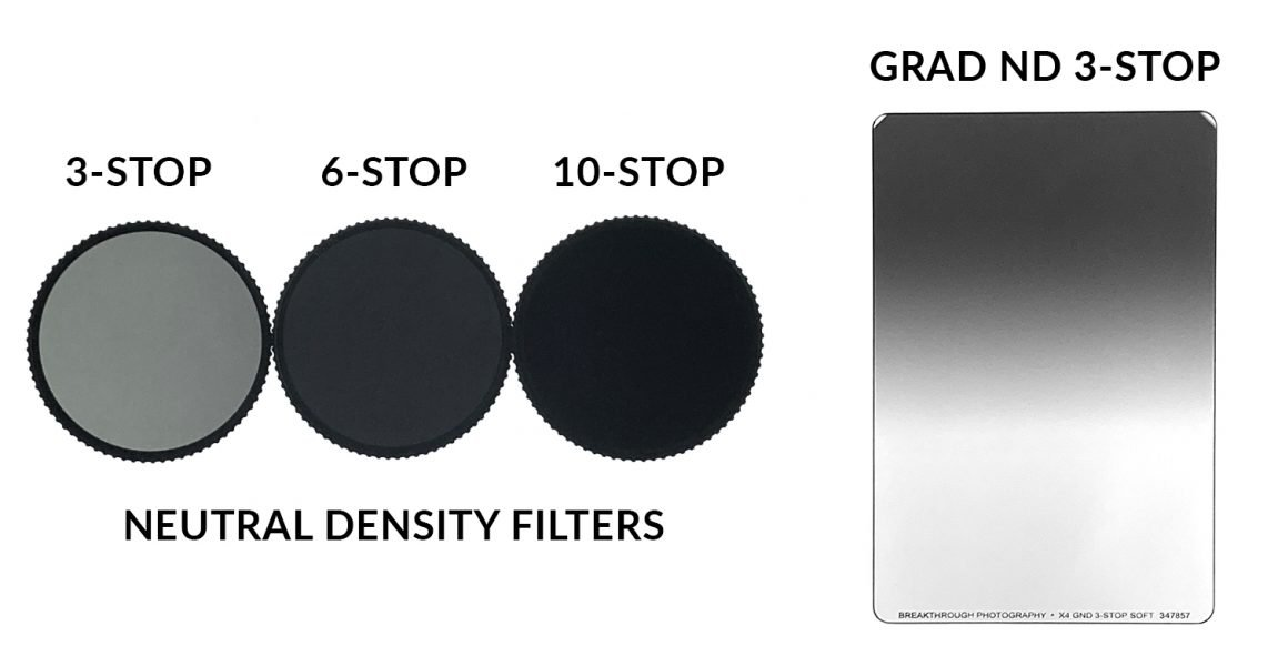 examples of neutral density filters
